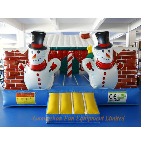 Christmas  Bouncer for kids -- Germany client like it so much