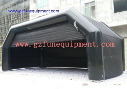 inflatable tunnel for events