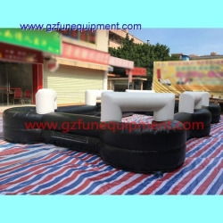 EN14960 inflatable billiard arena for sale / inflatable air track