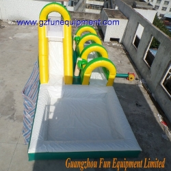Forest Inflatable water slide / bounce castle