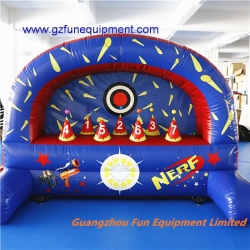 Hover ball inflatable nerf dart games air sport games